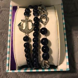 Anchor Bracelet set 😍